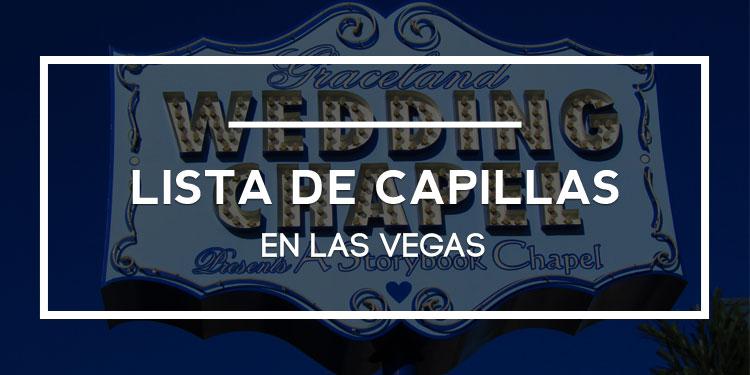 Lista de capillas en Las Vegas