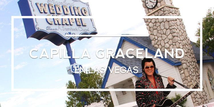 capilla Graceland Wedding Chapel en Las Vegas