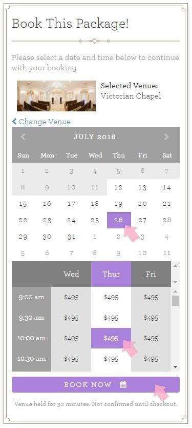 elegir fecha hora antes de 30 dias